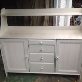 Newly up cycled sideboard professionally painted and new handles added