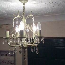 Three light fittings
