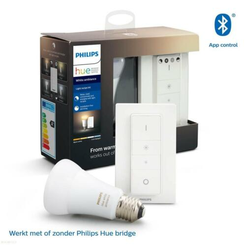 Philips Hue White Ambiance Dimmerset E27