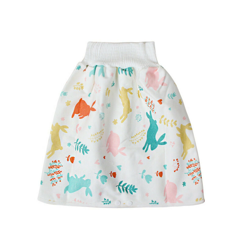 как выглядит Comfy Childrens Diaper Skirt Shorts 2 in 1 Waterproof and Absorbent Shorts фото