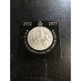 Elizabeth 2 coin 1977