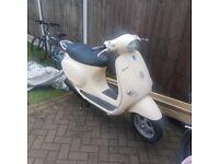 Vespa ET4 125cc low mileage hatdly used