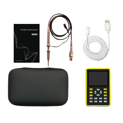Usb 100mhz Handheld Pocket Digital Oscilloscope Support Waveform Storage