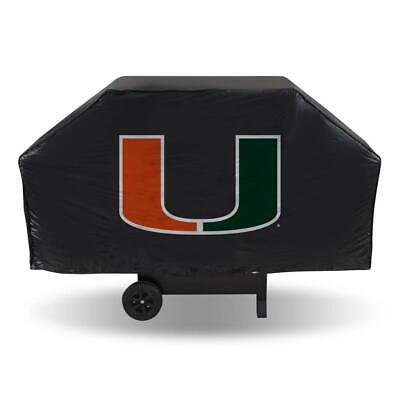 Miami Hurricanes Vinyl Grill Cover [NEW] NCAA BBQ Barbecue Cook -