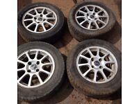 wheels tyres alloys