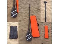 Carbon fibre SUP paddle