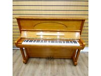Weber GE-121 Upright Piano Walnut Polyester By Sherwood Phoenix Pianos