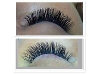 ONLY £35 INDIVIDUAL EYELASH EXTENSIONS: short term offer only £40 for a full set