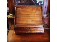 Gorgeous Antique Table Top Writing Bureau