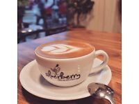 BARISTA and WAITING STAFF opportunity at SILVERBERRY