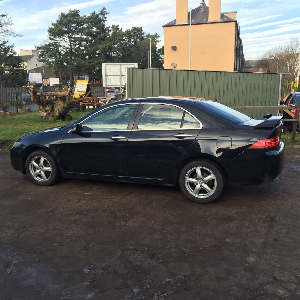 2004 honda accord 2 2 cdti in black mot till 6th of january 2018 in dundee gumtree for All black honda accord