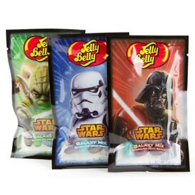 1320 Packs of Star Wars Jelly Belly Beans Sweets - 55 Brand New, Sealed Cases - BBE Jan 17th 2018
