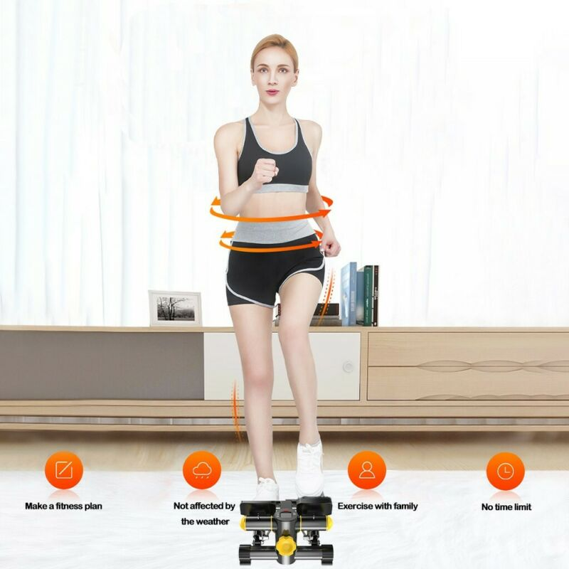 Household Multifunct Stepper Exercise Machine PRO Fitness Equipment LCD Display