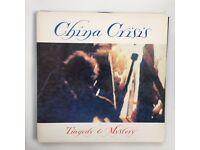 "China Crisis – Tragedy And Mystery Vinyl 12"" 45RPM UK 1983 Pop VIRGIN VS587 12"