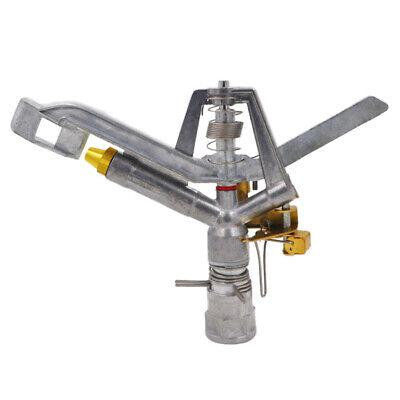 360 Degrees Adjustable Garden Lawn Impact Sprinkler Dn25 Alloy Controller