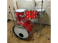 Fully Refurbished Vintage Beverley Drum Kit (Free Local Delivery)