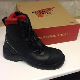 Brand new unused Red Wing safety boots ,