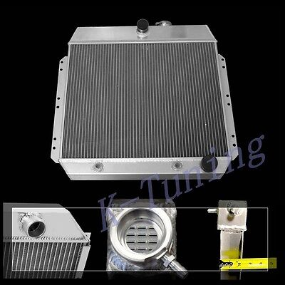 ALL ALUMINUM RADIATOR FIT 49  Chevy Base Convertible Base Coupe V8 3 Rows Cores