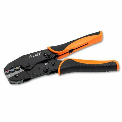 Crimping Tool For Heat Shrink Connectors - Ratcheting Wire Crimper By Wirefy