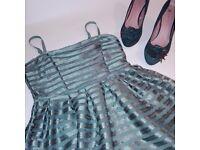 H&M dress & Heels, size 8