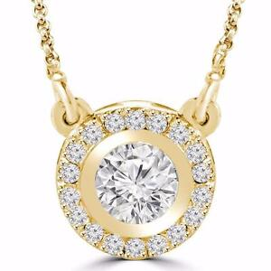 14K YELLOW GOLD DIAMOND PENDANT .50 CTW / PENDENTIF À DIAMANTS SUR OR JAUNE .50 CARAT TOTAL
