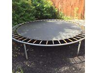 10 foot trampoline!