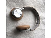 B&O PLAY by Bang & Olufsen BeoPlay H6 Second Generation Over -Ear Headphones - Natural Leather