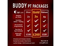 2:1 Buddy Personal Training - Glasgow / Paisley / Renfrew - Only 1 space available