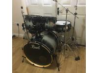 Fully Refurbished Pearl ELX Drum Kit (Grey Burst)