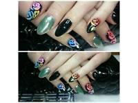 Beautiful nails! Extensions, gel overlays, soak off gel