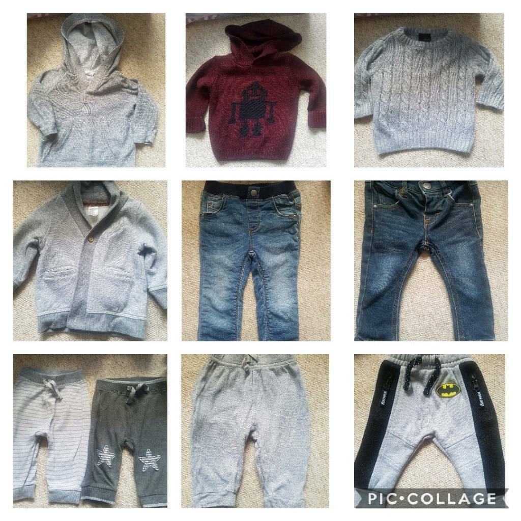 Baby Boy Clothes Bundle 3 6 Months Next River Island H M In