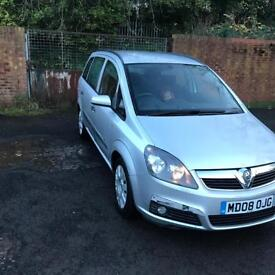 2008 Vauxhall zafira 1.6 manual 7 seater
