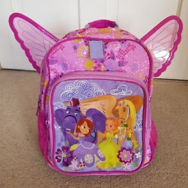 Childs Pink Disney Store 'Sophia the first' Mini Bag / Backpack