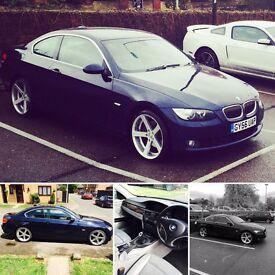 BMW 325i Coupe Sat Nav I-drive Cades 2 x wheels M3
