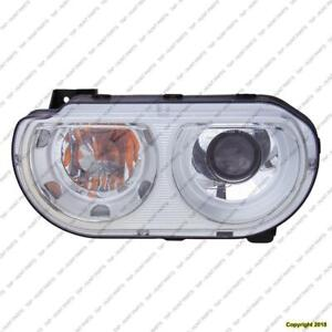 Head Light Passenger Side Xenon Without Bulb High Quality Dodge Challenger 2008-2010