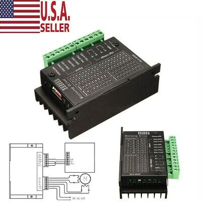 Single Axis Tb6600 0.2-5a Cnc Two-phase Stepper Motor Hybrid Driver Controller