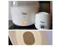 The Tommee Tippee Electric Steam Steriliser