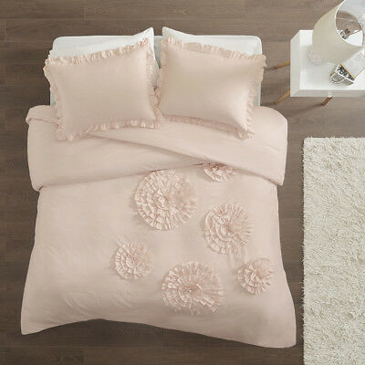 Intelligent Design Ella Ruffle Floral Comforter Set