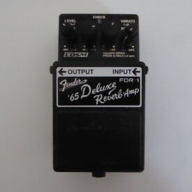 BOSS FDR-1 EFFECTS PEDAL FOR COLLECTION ONLY UNABLE TO POST
