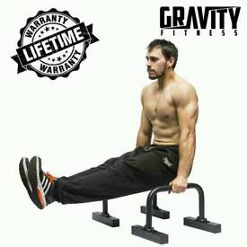 Gravity Fitness Parallettes for Crossfit, Calisthenics, Gymnastics, Bodyweight