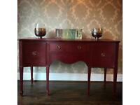 Lovely refurbished hand painted sideboard