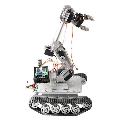Wifi Control 8dof Diy Robot Arm Claw Chassis Servo Kit Manipulator Grab Set