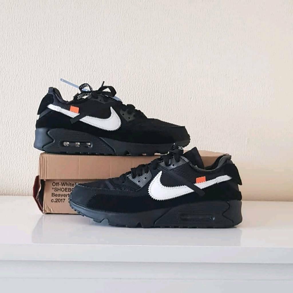 971c6e71 Off white x Nike Air max 90 Black | in London | Gumtree