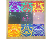 "43x Trance/House Records -Ministry Of Sound Manifesto Various Prices - 12"" Vinyl Singles Framed"