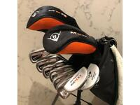 Junior (children's) golf bag and clubs