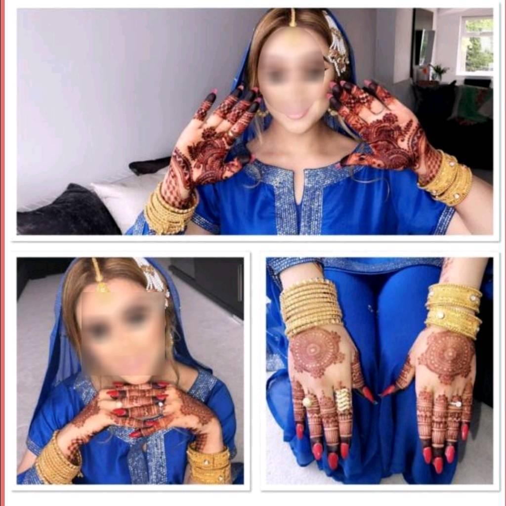 Natural henna/Mehndi, White henna tattoo, Black henna tattoo