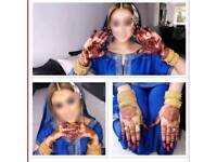 Natural henna/Mehndi, White henna tattoo, Black henna tattoo artist a