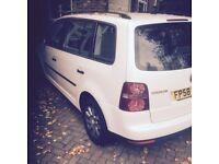 VW Touran, Diesel, White, 288k mil, Needs Work