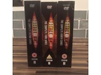 Dr Who DVD series 2-4