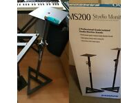 Samson MS200 pro studio monitor stands